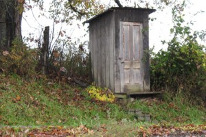 Knock over the outhouse